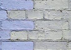 Parete con la pittura variopinta del modello della pittura murale Fotografie Stock