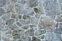 Parete con la stenditura della pietra naturale di varie strutture immagini stock libere da diritti
