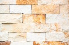 Parete con le pietre decorative Foto della priorità bassa immagine stock libera da diritti