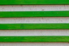 Parete con le plance di legno Fotografia Stock
