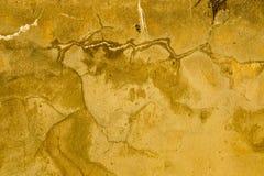 Parete con struttura, vecchia parete del mortaio Fotografie Stock