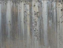 Parete concreta del cemento Fotografie Stock