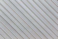 Parete d'argento di alluminio di superficie della fabbrica Fotografie Stock Libere da Diritti