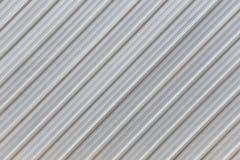 Parete d'argento di alluminio di superficie della fabbrica Immagine Stock