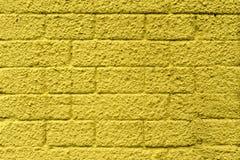 Parete dei blocchi in calcestruzzo, dipinta nei colori differenti fotografia stock libera da diritti