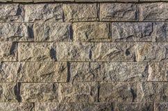 Parete dei blocchi di pietra Immagini Stock
