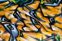 Parete dei graffiti Immagini Stock