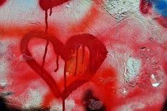 Parete dei graffiti Fotografia Stock Libera da Diritti