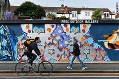 Parete dei graffiti Immagine Stock Libera da Diritti
