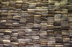 Parete dei jeans Fotografia Stock Libera da Diritti