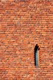 Parete del castello Fotografia Stock