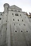 Parete del castello immagine stock
