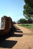 Parete del castello di Alanya immagini stock libere da diritti