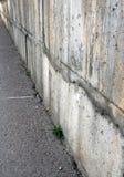 Parete del cemento Fotografie Stock