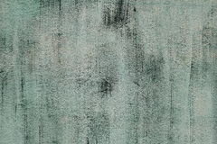 Parete del cemento di colore verde Fotografia Stock