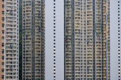 Parete del fondo della costruzione di appartamento fotografie stock