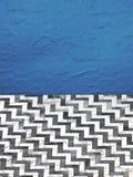 parete del gesso dell'estratto 3d e mattonelle del marmo illustrazione vettoriale