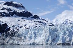 Parete del ghiacciaio fotografia stock libera da diritti