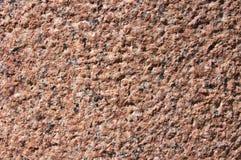 Parete del granito Fotografie Stock