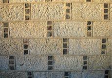 Parete del granito di Aberdeenshire immagine stock