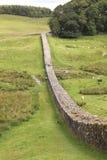 Parete del Hadrian in Northumberland Immagini Stock