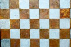 Parete del modello di scacchi Immagini Stock Libere da Diritti
