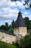 Parete del monastero di Pechorsky fotografia stock libera da diritti
