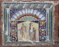 Parete del mosaico Fotografie Stock