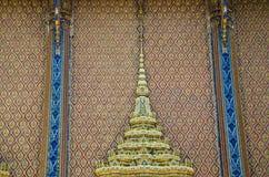 Parete del tempiale buddista Fotografia Stock Libera da Diritti