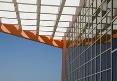 Parete dell'edificio per uffici. Fotografie Stock