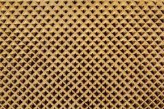 Parete dell'oro del modello del fondo della carta da parati. Fotografia Stock