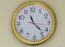 Parete dell'orologio Fotografie Stock Libere da Diritti
