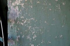 Parete della Camera con la vecchia pittura pelata Fotografia Stock