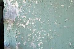 Parete della Camera con la vecchia pittura pelata Fotografia Stock Libera da Diritti
