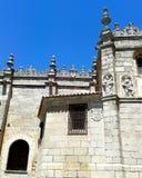 Parete della cattedrale del  vila, Spagna di à Fotografia Stock