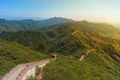 Parete della Cina Fotografia Stock Libera da Diritti