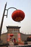 Parete della città del Xian (xi'an) Fotografia Stock Libera da Diritti