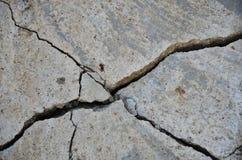 Parete della costruzione di terremoto fotografie stock libere da diritti