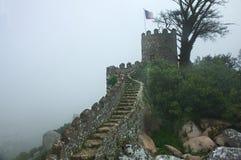 Parete della fortezza Fotografia Stock