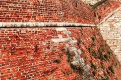 Parete 2 della fortezza Fotografia Stock