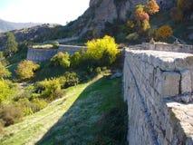 Parete della fortezza di Belogradchik Fotografie Stock