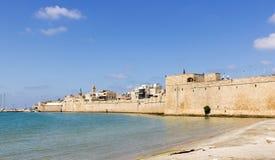 Parete della fortezza in vecchio San Giovanni d'Acri Immagine Stock Libera da Diritti