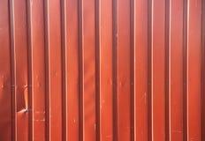 parete della lamina di metallo Fotografia Stock