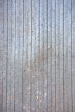 parete della lamina di metallo Fotografie Stock