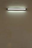 Parete della lampada elettrica Fotografia Stock Libera da Diritti