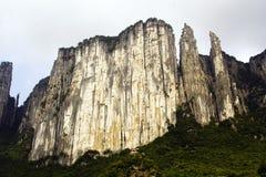 Parete della montagna Fotografia Stock