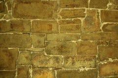 Parete della pietra marrone naturale immagine stock