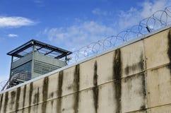 Parete della prigione Immagini Stock Libere da Diritti