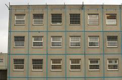 Parete della prigione Fotografia Stock