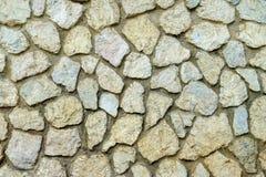 Parete della roccia o parete di pietra Immagini Stock